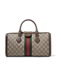 Gucci Ophidia Textured Med Printed  Canvas Tote