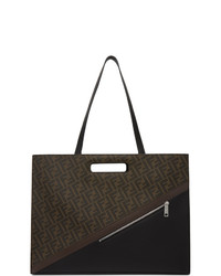 Fendi Brown Forever Eastwest 197 Tote