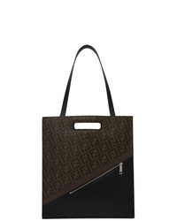 Fendi Brown Forever Northsouth 197 Tote