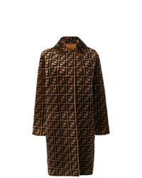 Fendi Double F Reversible Overcoat
