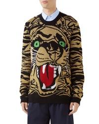 Gucci Tiger Wool Blend Sweater