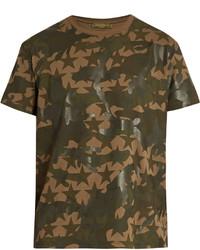 Valentino Camustars Print Cotton T Shirt