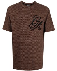 Giorgio Armani Geometric Print Logo T Shirt