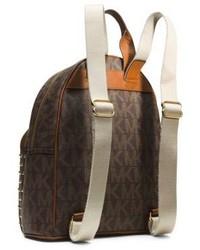 9ad2b3fb94c5a2 ... Michael Kors Michl Kors Jet Set Travel Small Studded Logo Backpack ...