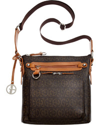 Giani Bernini Block Signature Crossbody Only At Macys