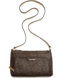 Calvin Klein Carrie Monogram Crossbody