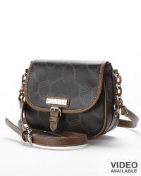 Chaps Signature Flap Crossbody Bag