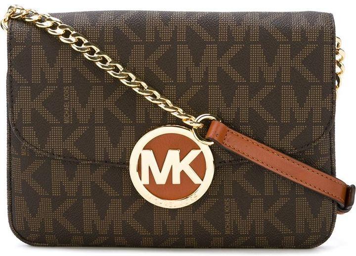 34591f3aaee9 MICHAEL Michael Kors Michl Michl Kors Fulton Logo Crossbody Bag ...