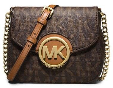 Michael Kors Fulton Crossbody Bag Brown