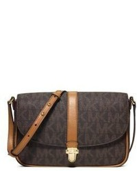 MICHAEL Michael Kors Michl Michl Kors Charlton Large Logo Print Leather Crossbody Bag