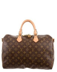 Louis Vuitton Monogram Speedy Bandoulire 35