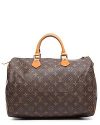Louis Vuitton Pre Owned Monogram Canvas Speedy 35 Bag