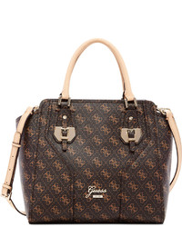 GUESS Confidential Logo Avery Satchel