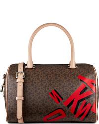 Dkny coated logo satchel medium 159489