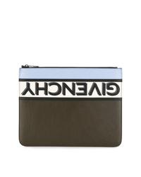 Givenchy Reverse Logo Clutch Bag