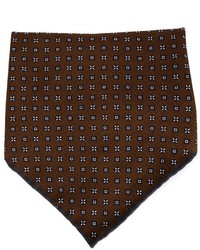 Brunello Cucinelli Diamond Print Pocket Square
