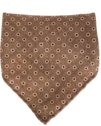 Dotted print pocket square medium 321233