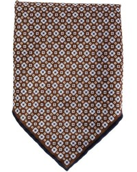 Brunello Cucinelli Floral Print Pocket Square
