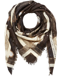 Marc by Marc Jacobs Jupiter Printed Wool Scarf