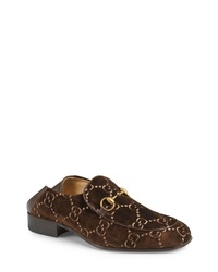 Gucci Horsebit Collapsible Leather Loafer