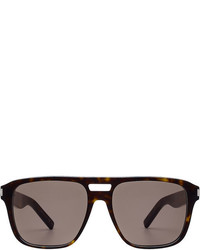 Saint Laurent Tortoiseshell Print Sunglasses
