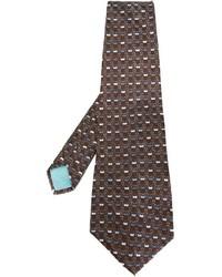Lanvin Vintage Printed Tie