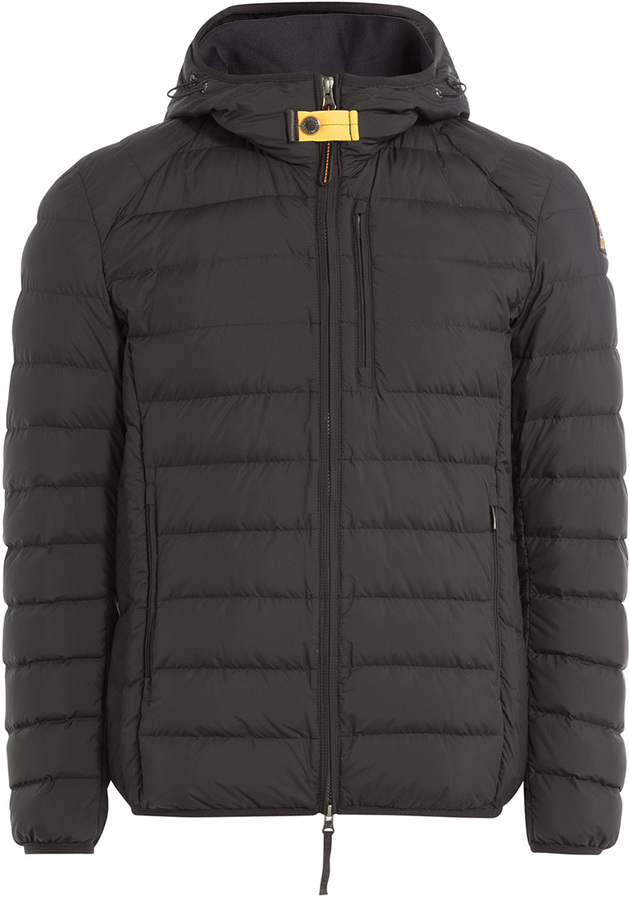 ... Brown Puffer Jackets Parajumpers Quilted Down Jacket With Hood ...