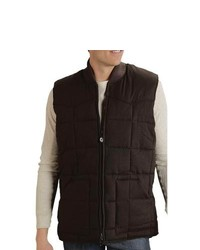 Roper Ranger Gear Vest Quilted Brown