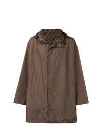 Dark Brown Raincoat
