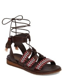 PIKOLINOS Antillas Beaded Ghillie Sandal