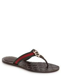 Gucci Gg Logo Sandal