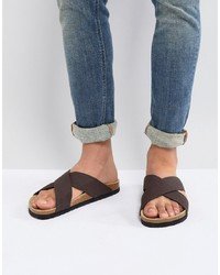 Pier One Sandals In Brown