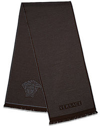 Versace Wool Logo Scarf