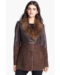Jessica Simpson Faux Shearling Coat