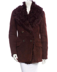 Gucci Shearling Coat