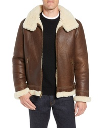 UGG Auden Genuine Shearling Aviator Jacket