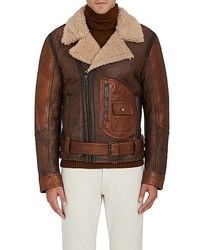 Belstaff Danescroft Shearling Aviator Jacket