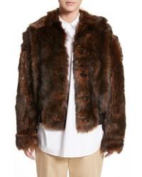 Sofie D'hoore Genuine Shearling Jacket