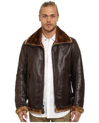 Andrew Marc Marc New York By Pilot Faux Shearling Aviator Jacket