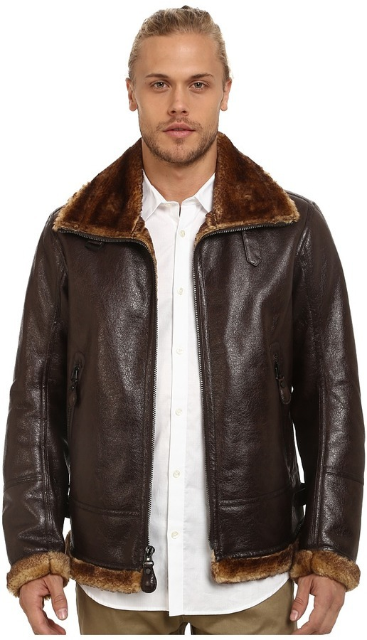 3df388d55f5c6 ... Andrew Marc Marc New York By Pilot Faux Shearling Aviator Jacket ...