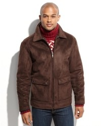 Nautica Jacket Faux Shearling Jacket