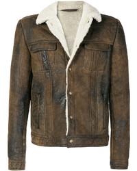Salvatore Santoro Shearling Lined Jacket
