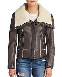 Sam Edelman Faux Shearling Lined Jacket
