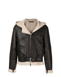 Desa Collection Shearling Zipped Jacket