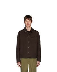 Acne Studios Brown Twill Ognite Jacket