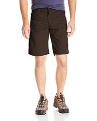 Dark Brown Shorts