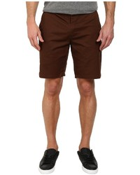 Men's Dark Brown Shorts by Obey | Men's Fashion