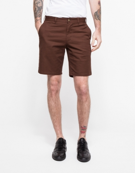 Men's Fashion › Shorts › Dark Brown Shorts Obey Good Times Short ...