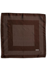 Tom Ford Dot Print Silk Pocket Square