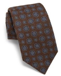 Dark Brown Silk Tie
